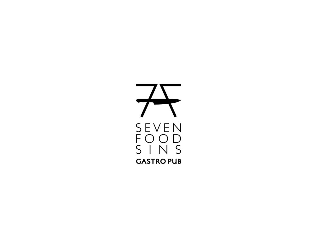 Seven food sins logo