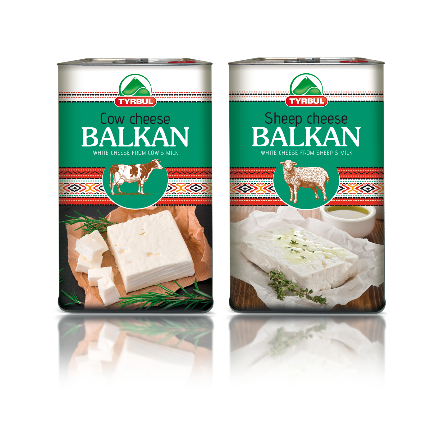 Balkan Cow Cheese