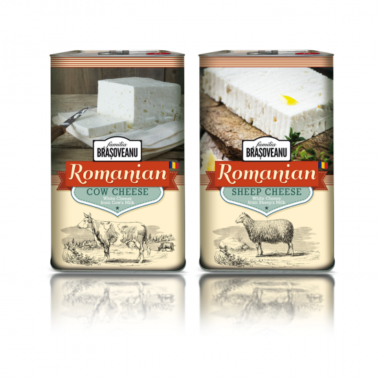 Romanian Cow and Sheep cheese