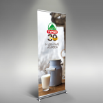 Tyras 30 years rollup banner