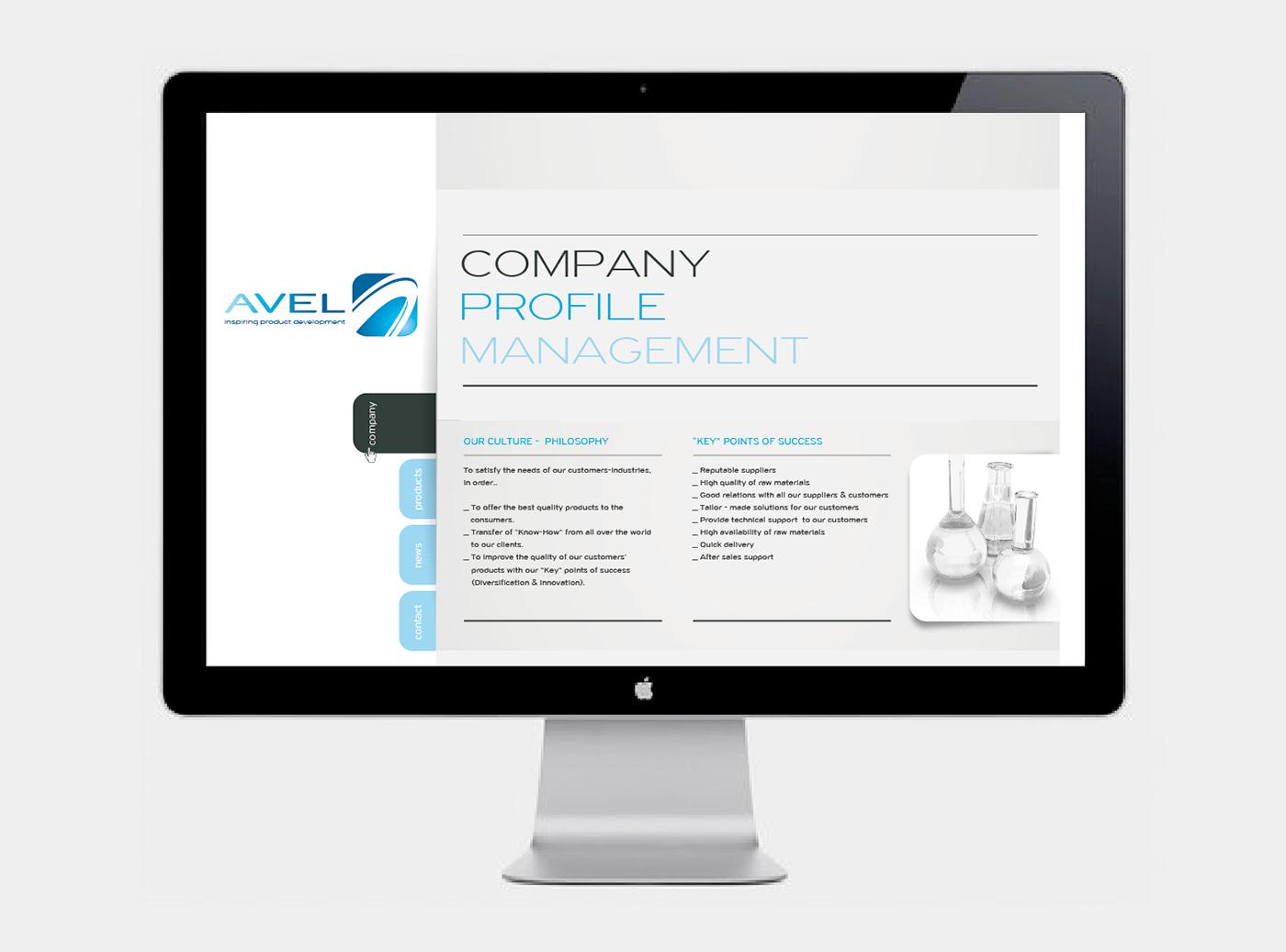 Avel Website design