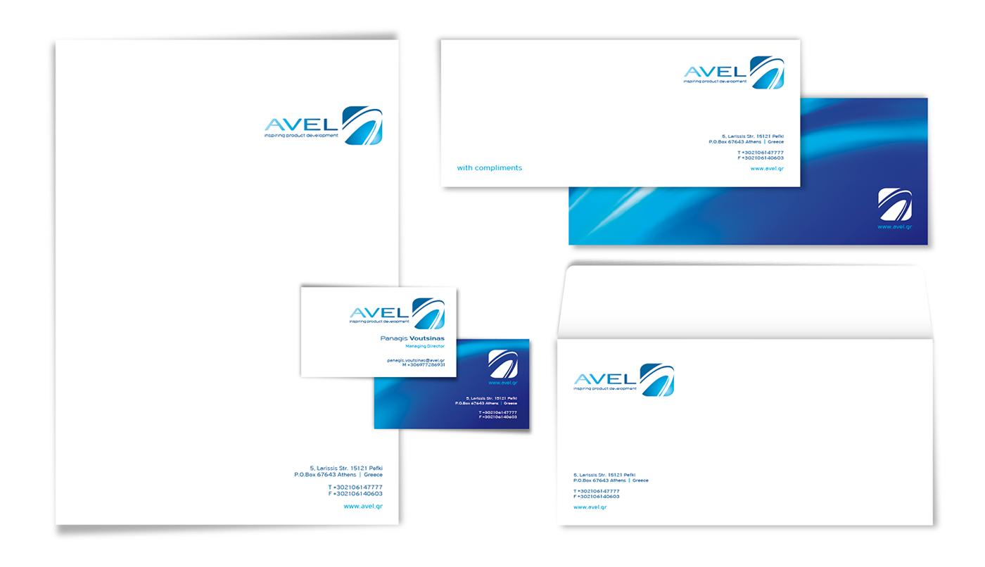 Avel Corporate Identity design
