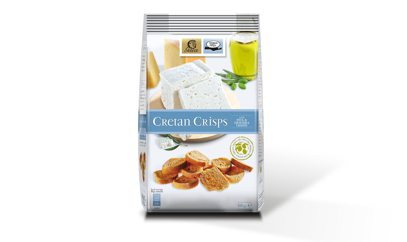 Cretan Crisps with Feta