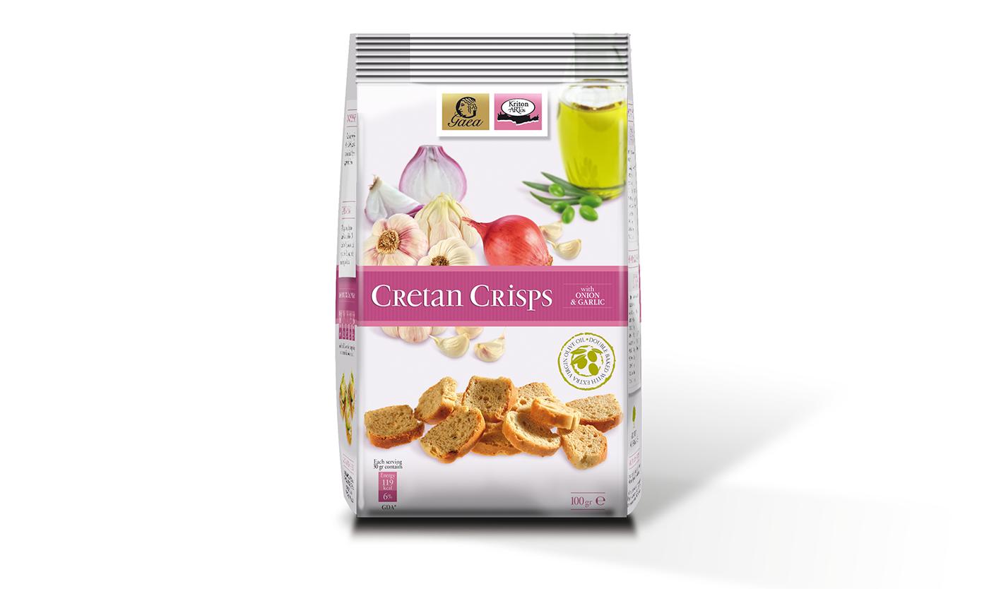 Cretan Crisps with Onion