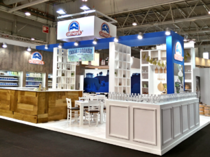 Olympus trade booth